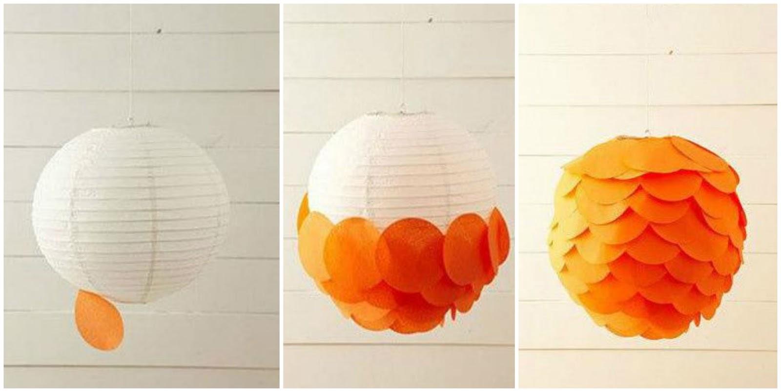 Adornos de papel colgantes para fiestas cositasconmesh - Como hacer cadenetas de papel para fiestas ...