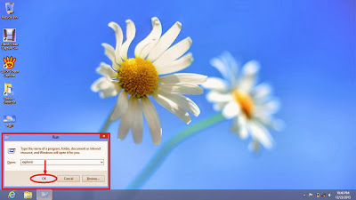Learn how to show hidden files and folders in windows 8 step3