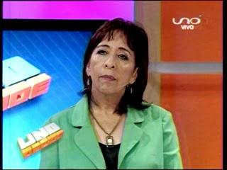Gabriela Niño de Guzmán en Uno Decide Red Uno