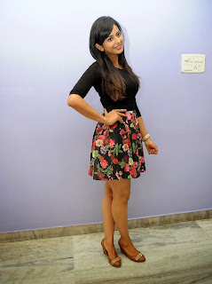 Actress Rakul Preet Singh Pictures in Floral Short Skirt at Rough Teaser Launch  20.jpg