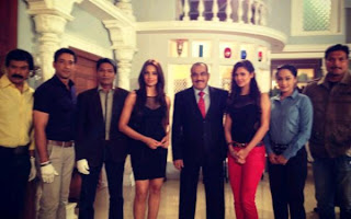Bipasha Basu and Esha Promote Raaz 3 Movie On The Sets Of CID
