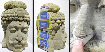 Amazing Phone Book Sculptures Art Seen On www.coolpicturegallery.us