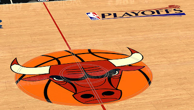 NBA 2K13 Chicago Bulls Court Playoffs Mod