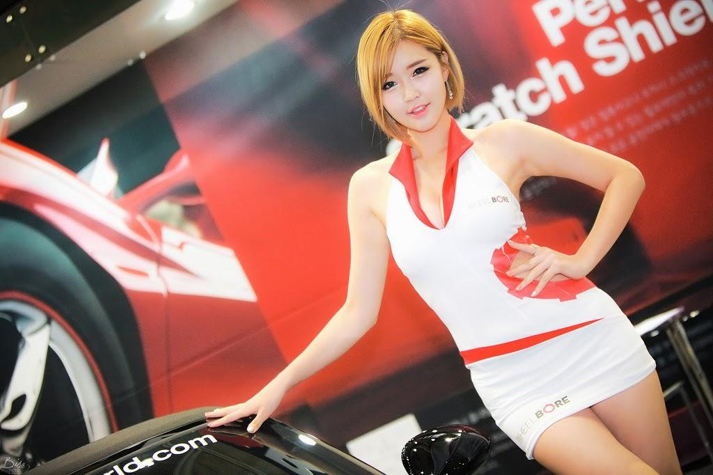 5 Choi Byeol Ha - Seoul Auto Salon 2014 - very cute asian girl-girlcute4u.blogspot.com