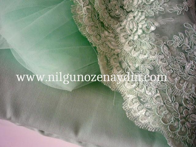 prenses kıyafeti için kumaşlar