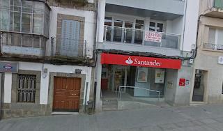 Fachada del Banco Santander sucursal bejar
