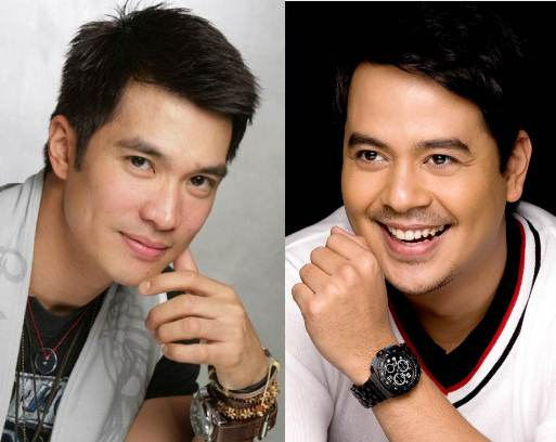 John Lloyd Cruz and Diether Ocampo