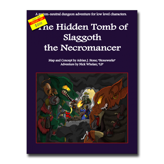 Free GM Resource: The Hidden Tomb of Slaggoth the Necromancer