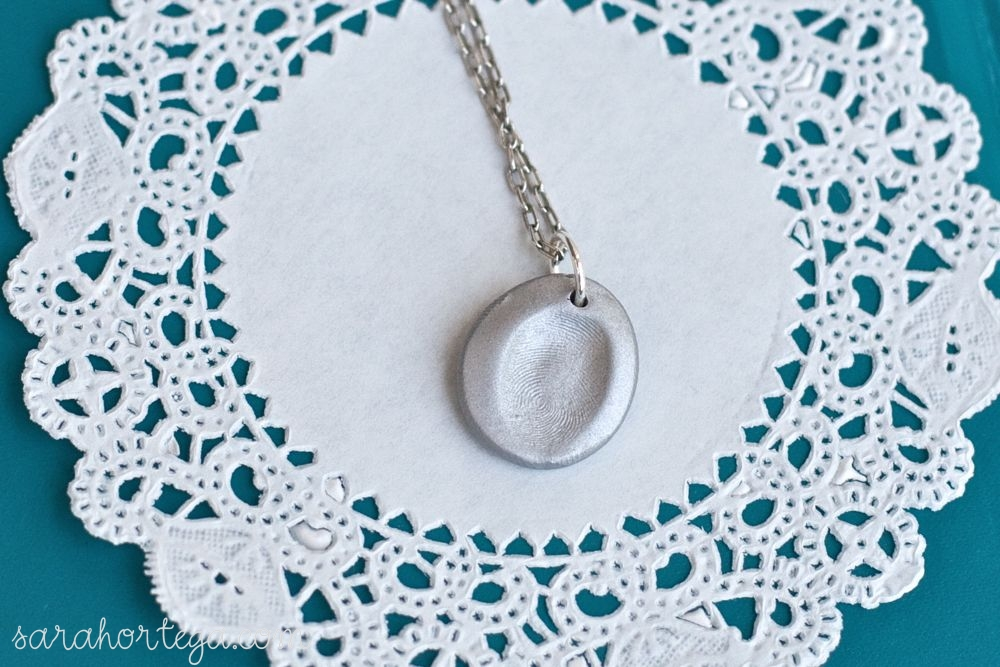 diy fingerprint jewelry