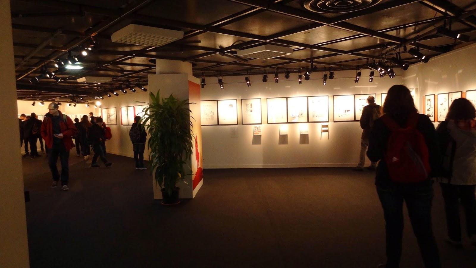 Exposition Fabien Nury, intérieur, FIBD Angoulême 2015