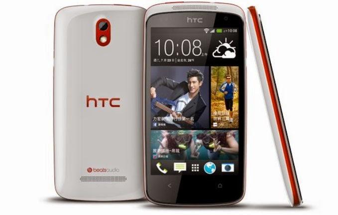 Harga Dan Spesifikasi HTC Desire 500 Edisi Terbaru, Dengan Layar Dan Processor Terbaru