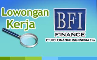 Lowongan Kerja Terbaru PT BFI Finance Indonesia, Tbk. (BFI) Untuk Lulusan S1 Fresh Graduate Semua Jurusan
