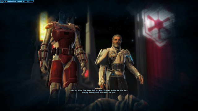Star Wars The old republic Knights of the Fallen Empire, Chapter II darth jadus dead