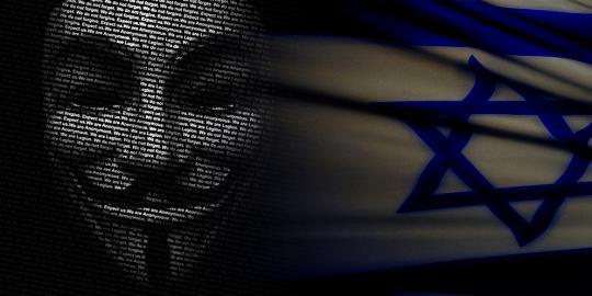 'Serangan fajar' Anonymous berhasil bobol situs mata-mata Israel