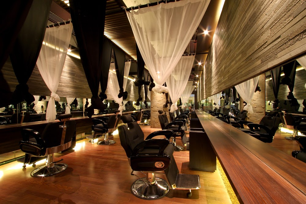 Interior salon interior design ideas for Dicor salon