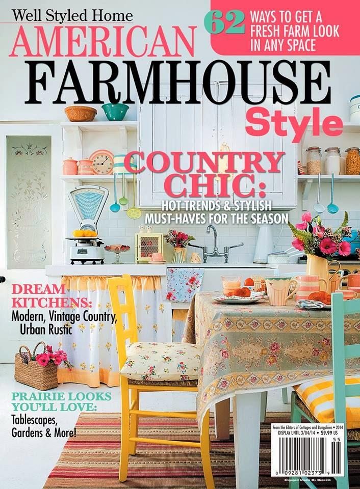 Farmhouse musings american farmhouse style magazine for American farmhouse style