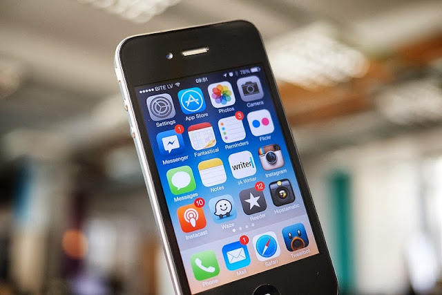 iOS7の画面