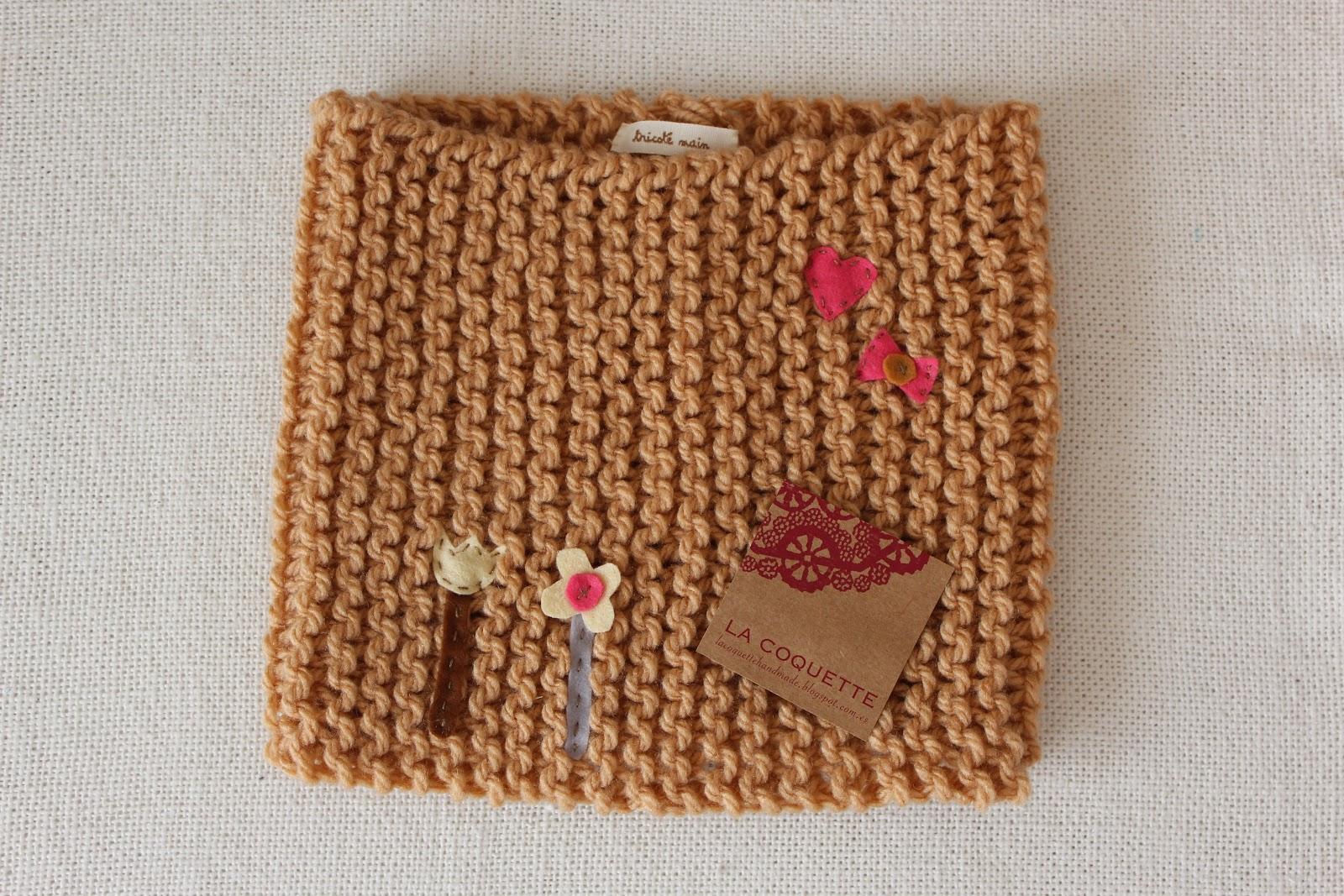 Lacoquettehandmade nuevos colores y cuellos de lana - Como hacer pompones con lana ...