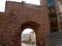 El Portal de Graells per la banda interior de la muralla