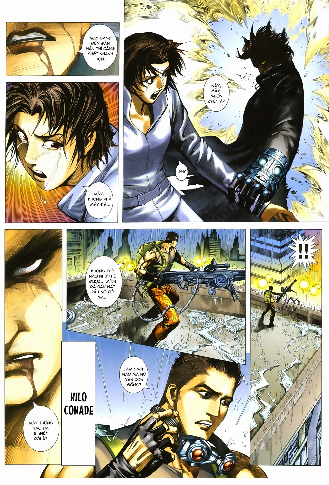 Tuyệt Địa Thiên Hành chap 8 Trang 13 - Mangak.info
