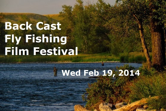 Michelle Magotiaux of Bow River Shuttles is pleased to present Back Cast Fly Fishing Film Festival