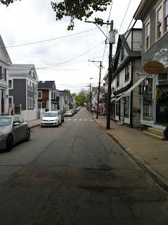 A view of downtown Stonington Borough