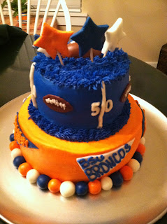 Cat S Cake Creations Boise State Broncos Football