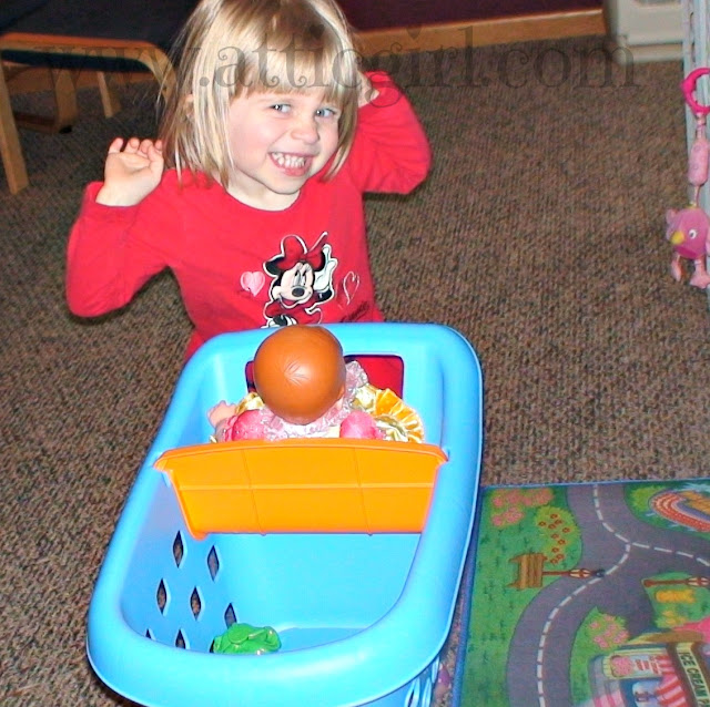 Toddler Play, Wordless Wednesday