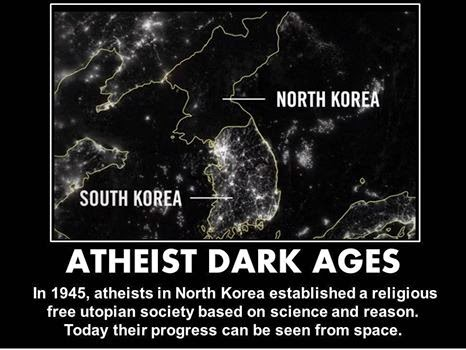 Atheist dark ages