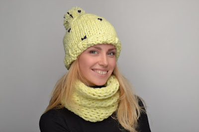 yellow winter scarf