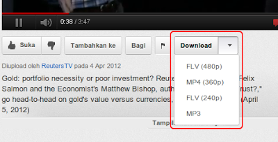 Cara mudah unduh download video YouTube