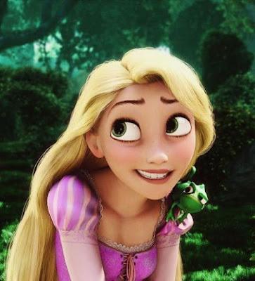 Ekspresi Lucu Rapunzel