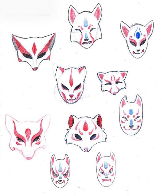 1000+ Images About Kitsune Mask On Pinterest | Kitsune Mask DeviantART And Real Life
