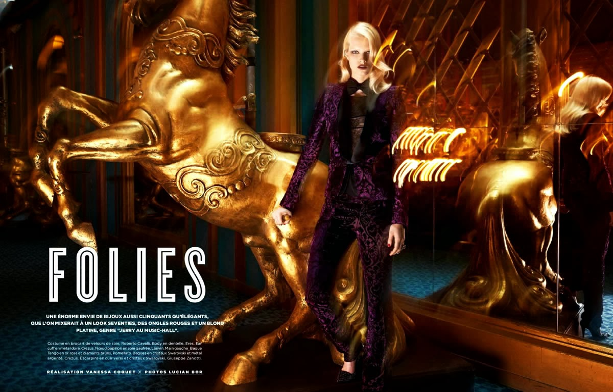 Magazine Photoshoot : Bree Smith Photoshoot by Lucian Bor for Be Magazine January 2014