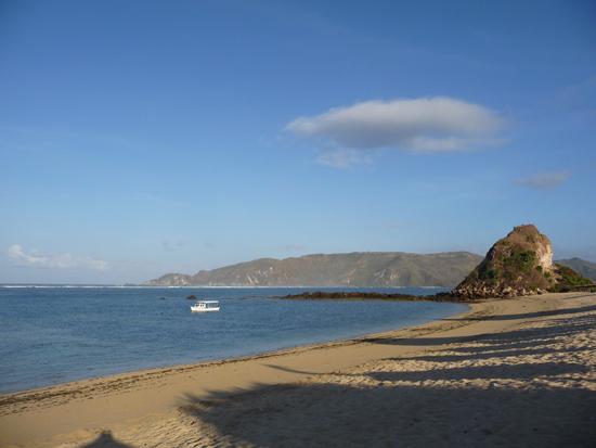 Paz y tranquilidad en la playa