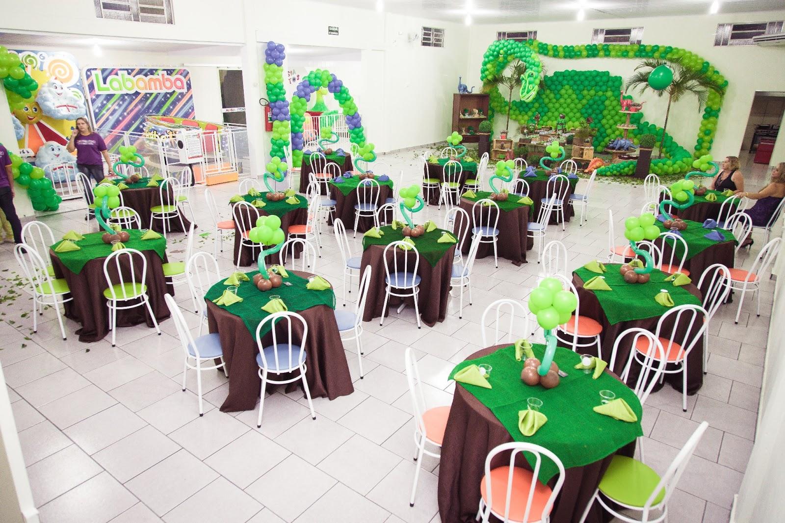 Agora n s somos festeirah decor dinossauros for Agora decoration