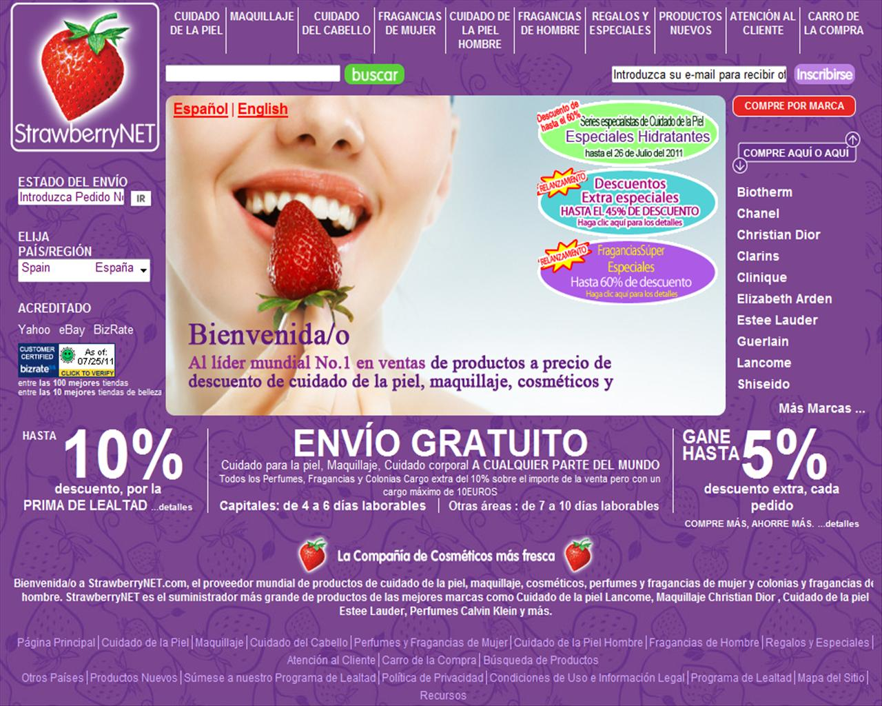 Strawberrynet-India. M likes. Strawberrynet is the world's largest online beauty store, with over 32, products from + premium 360peqilubufebor.cf us at.