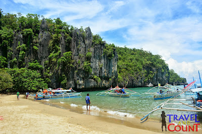 Beach along Monkey Trail Puerto Princesa
