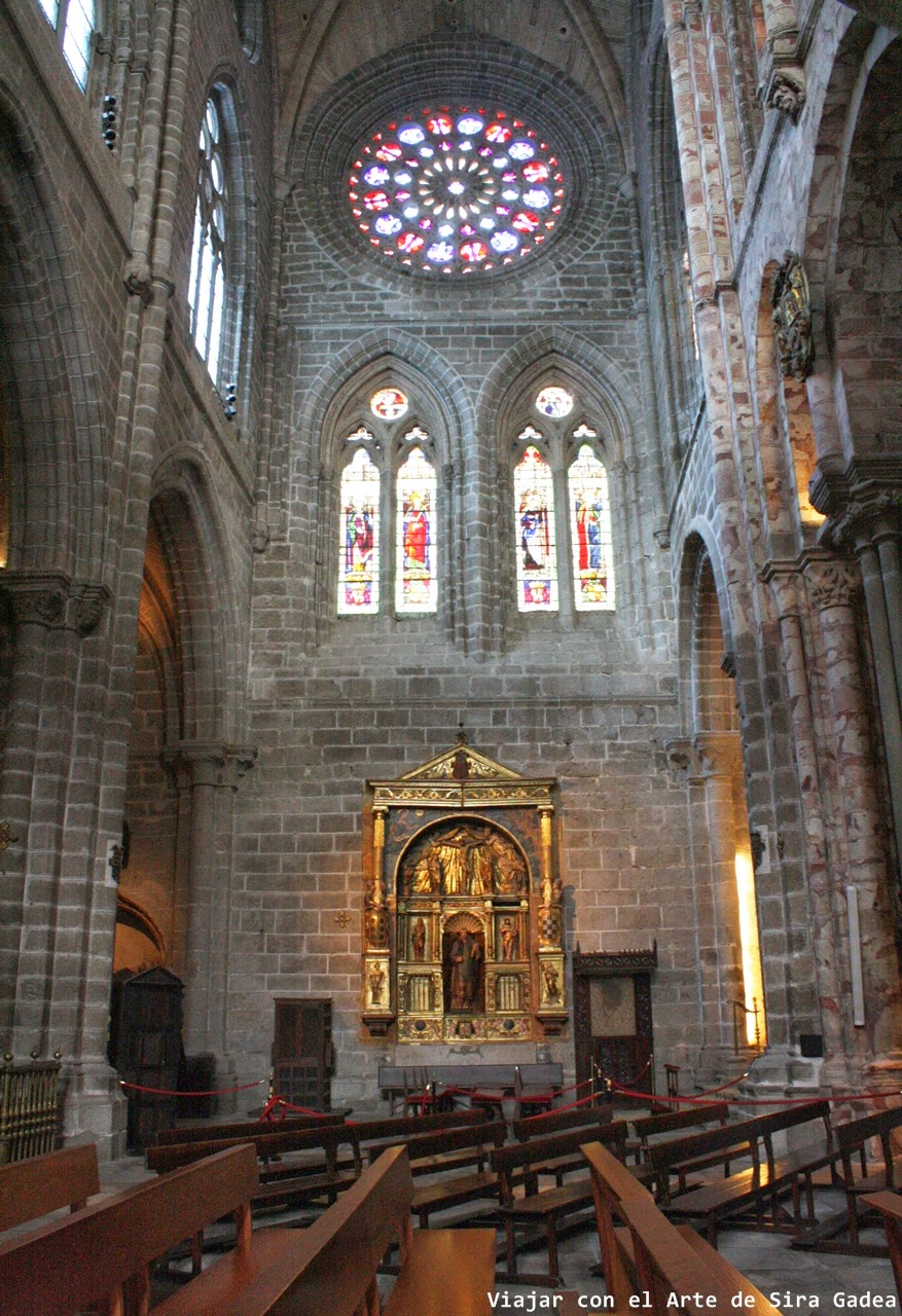 Capilla san Antolín catedral Ávila