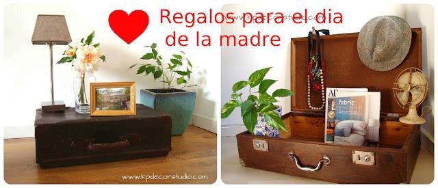 Regalos originales online para regalar a una madre. Detalles decorativos para regalar el día 5 de mayo.