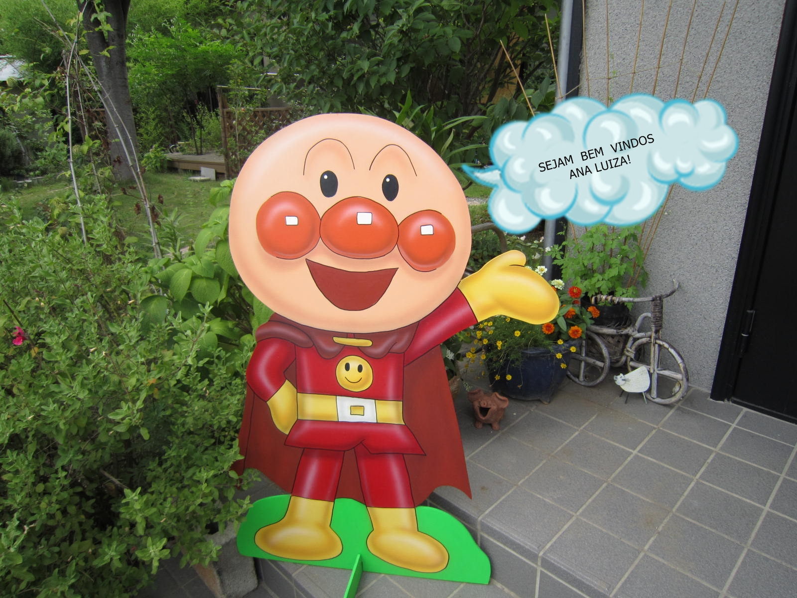 1000 images about kainalus birthday on pinterest for Anpanman cake decoration