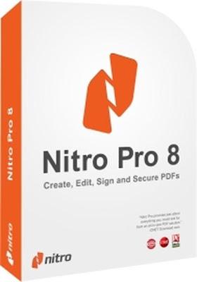 تحميل برنامج Nitro PDF Professional 8 مجانا للتعديل علي ملفات البي دي اف