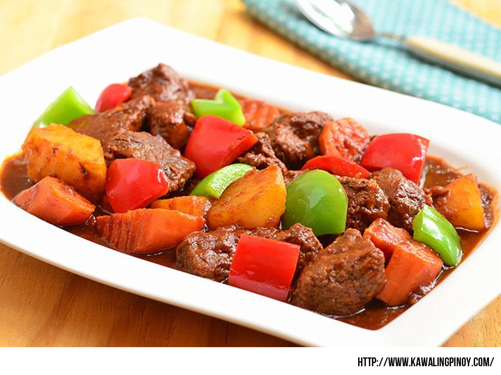 how to cook beef tongue filipino style