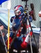 Iron Man 3 Filming Photos (iron man iron patriot coldblood eric savin )