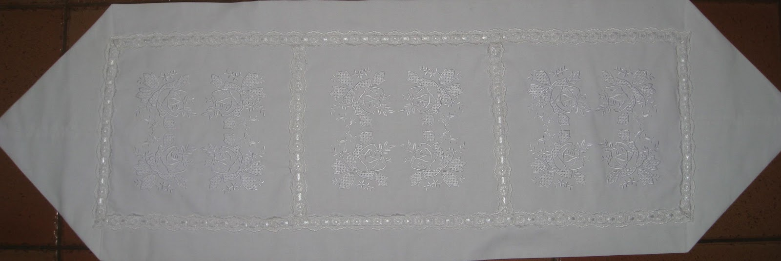 Vicki 39 s fabric creations free pattern project downloads for 10 minute table runner pattern