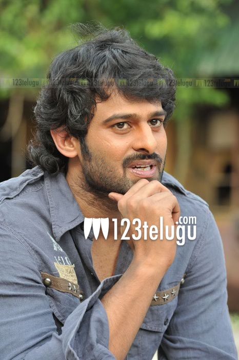 Prabhas at Rebel Shooting