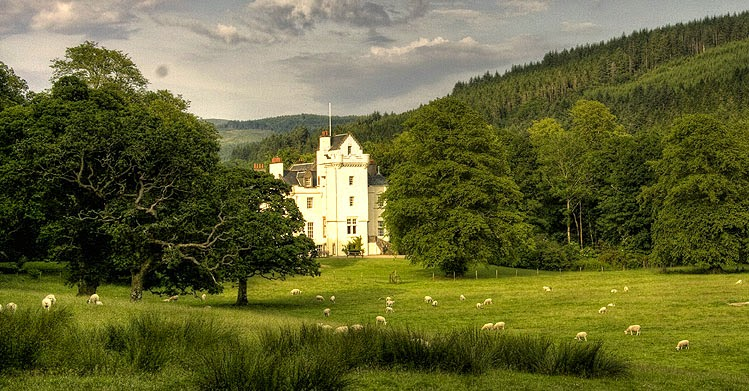 The seat of Clan Maclachlan, Castle Lachlan