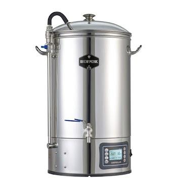 Passez au tout en un en 50 litres avec la cuve Brew Monk - Le meilleur rapport qualité prix!