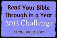 ♥ Bible in a year challenge ♥