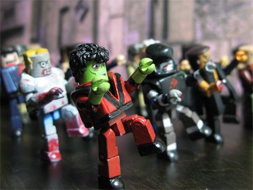 Michael Jackson Thriller Minimates